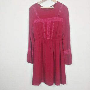 Earthbound Trading Co. Boho Dress Red